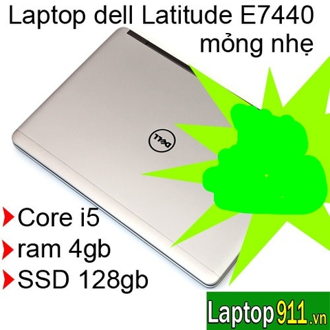 Laptop Dell Latitude E7440 màn Full HD