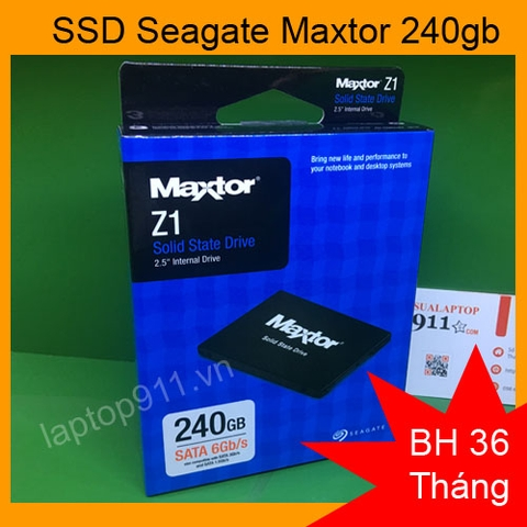 ổ cứng ssd 240gb Seagate Maxtor Z1