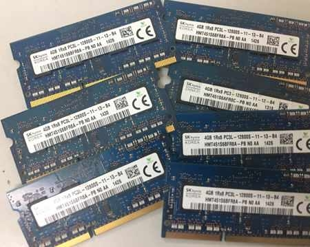 Ram laptop 4gb PC3L bus 1600