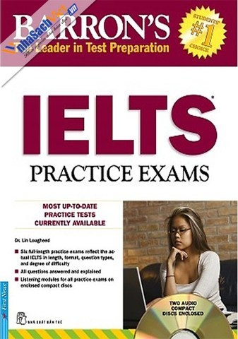 Barron's_IELTS Practice Exams 2CD - Tái Bản 2017