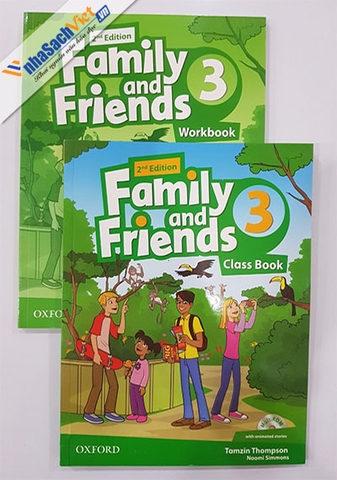 Family and friends 3 - 2nd Edition