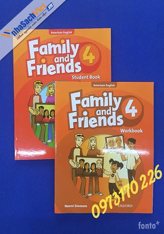 Family and friends 4 - American