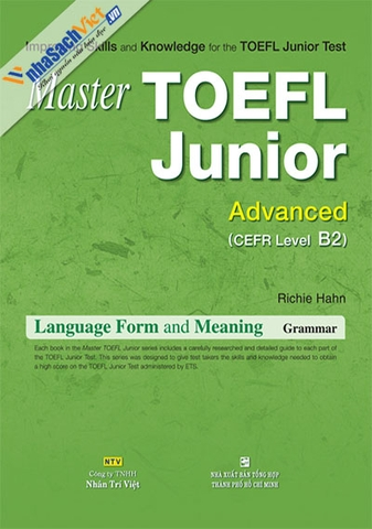 Master TOEFL Junior Advanced: Language Form and Meaning