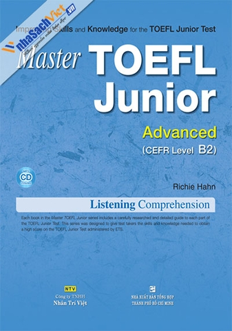 Master TOEFL Junior Advanced: Listening Comprehension