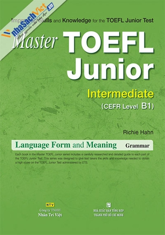 Master TOEFL Junior Intermediate: Language Form and Meaning