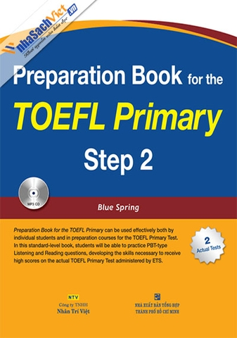 Preparation Book for the TOEFL Primary: Step 2