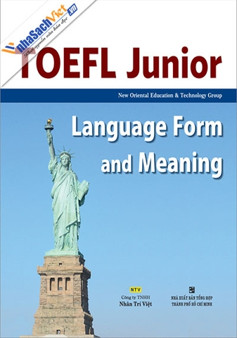 TOEFL Junior Language Form and Meaning