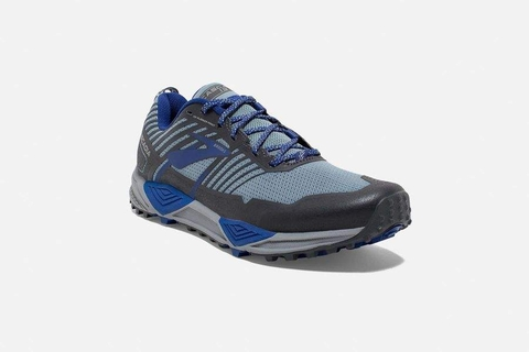 Brooks Cascadia 13 Men - Blue/Grey/Ebony