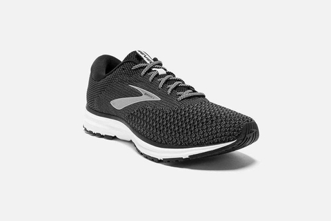 Brooks Revel 2 Men - Black/Grey/Grey