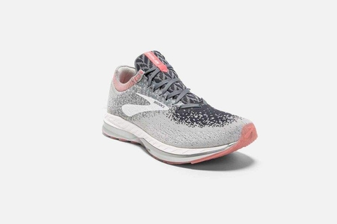 Brooks Bedlam Women - Grey/Coral/White