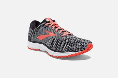 Brooks Revel 2 Women - Black/Light Grey/Orange