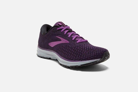 Brooks Revel 2 Women - Black/Purple/Grey