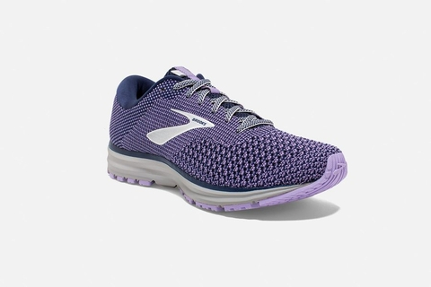 Brooks Revel 2 Women - Blue/Purple Rose/Grey