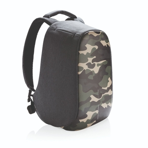 Bobby Compact Anti-Theft backpack, Camouflage Green
