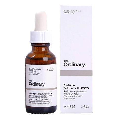 Caffeine Solution 5% + EGCG 30ml The Ordinary - Serum xóa nhăn, trị thâm quầng mắt