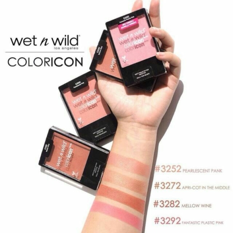 Má Hồng Wet N Wild Color Icon