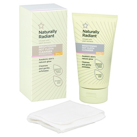Tẩy trang khăn nóng Naturally Radiant Hot Cloth Cleanser 150ml