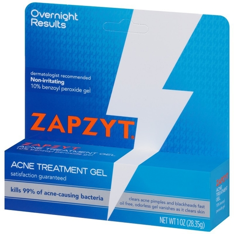 Gel trị mụn Zapzyt Acne Treatment Gel Clears Acne