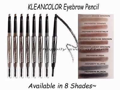 Chì kẻ mày Kleancolor Double Action Auto Eyebrow Pencil