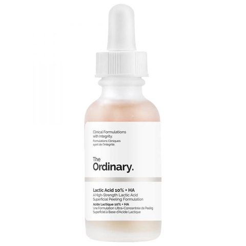 Lactic Acid 5% / 10% + HA The Ordinary - Serum làm sáng mịn da