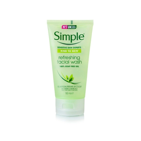 Sữa rửa mặt Simple Refreshing Facial Wash
