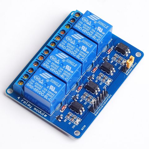 12V 4 Chanel Relay Module Board, 1pcs 4 Channel Relay Module shield