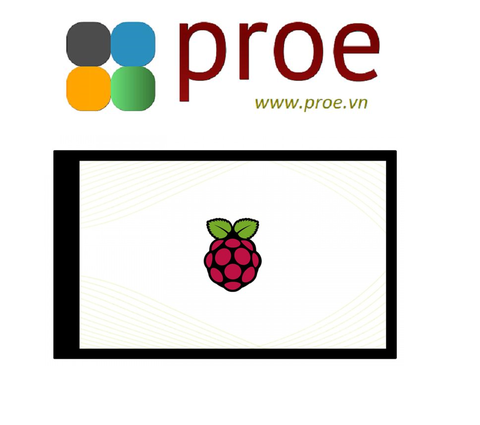 4inch DPI LCD (B) 4inch Capacitive Touch Screen LCD for Raspberry Pi, 480×800, DPI, IPS, Toughened Glass Cover, Low Power