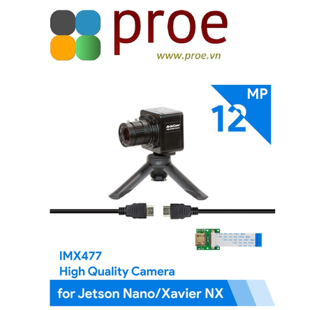 Arducam Complete High Quality Camera Bundle for Jetson Nano/Xavier NX