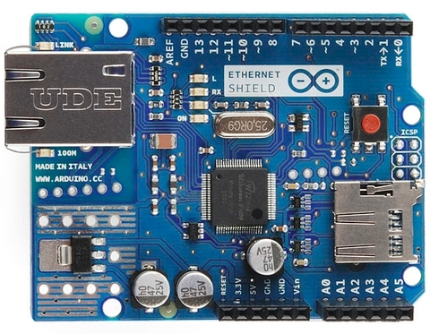 Arduino Ethernet Shield (Made in China)