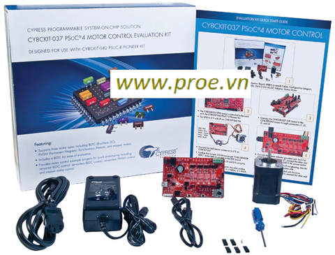 CY8CKIT-037 PSoC 4 Motor Control Evaluation Kit