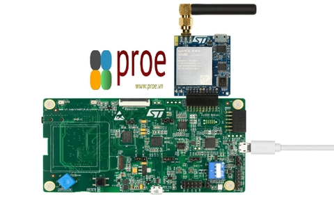 P-L496G-CELL02 LTE Cellular to Cloud Pack with STM32L496AG MCU