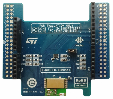 Bluetooth Low Energy expansion board based on SPBTLE-RF module for STM32 Nucleo
