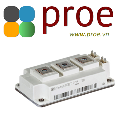 FF300R12KE3HOSA1 Trans IGBT Module N-CH 1200V 440A 1450000mW Automotive 7-Pin 62MM-1 Tray