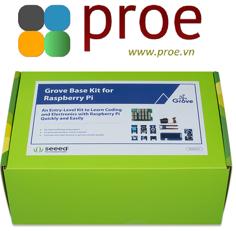 Grove Base Kit for Raspberry Pi