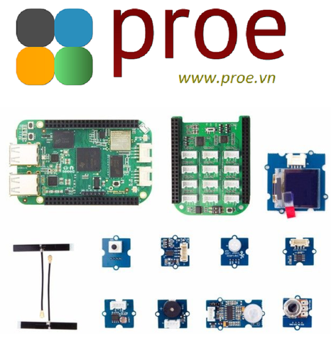 Seeed Studio BeagleBone® Green Wireless IOT Developer Prototyping Kit for Google Cloud Platform