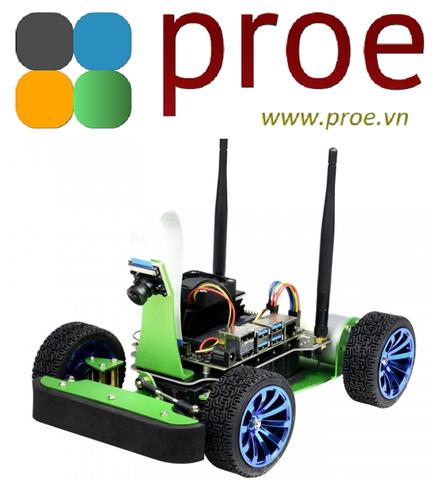 JetRacer AI Kit Acce  JetRacer AI Kit, AI Racing Robot Powered by Jetson Nano (NOT included)
