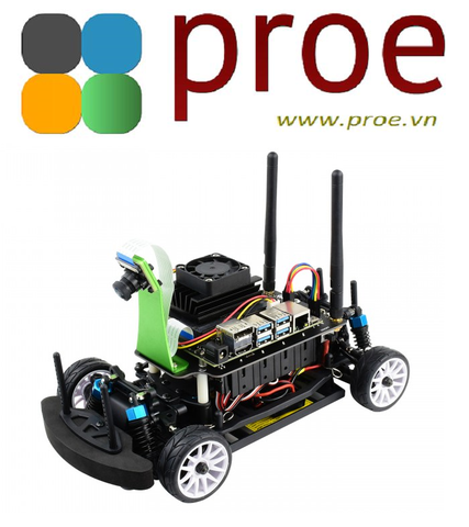 JetRacer Pro AI Kit, High Speed AI Racing Robot Powered by Jetson Nano, Pro Version