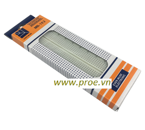 Breadboard MB-102 830 Lỗ 165x55x10mm