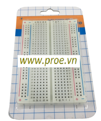 Breadboard MB-102 400 Lỗ 85x55x10mm