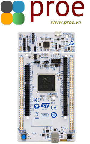 NUCLEO-L552ZE-Q STM32 Nucleo-144 development board with STM32L552ZE MCU, SMPS, supports Arduino, ST Zio and morpho connectivity