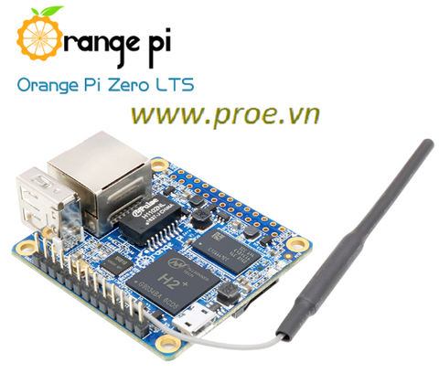 Orange Pi Zero LTS 512MB