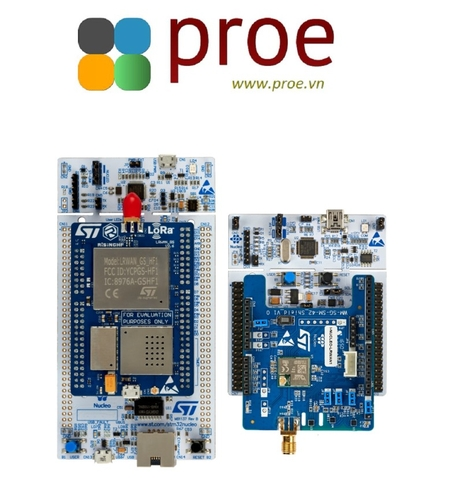 P-NUCLEO-LRWAN2 STM32 Nucleo pack LoRa™ HF band sensor and gateway