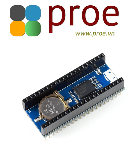 Pico-RTC-DS3231 Precision RTC Module for Raspberry Pi Pico, Onboard DS3231 Chip