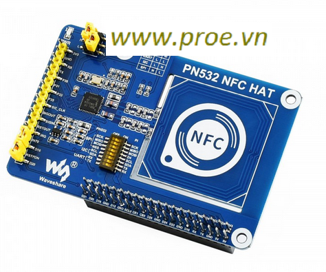 PN532 NFC HAT for Raspberry Pi, I2C / SPI / UART