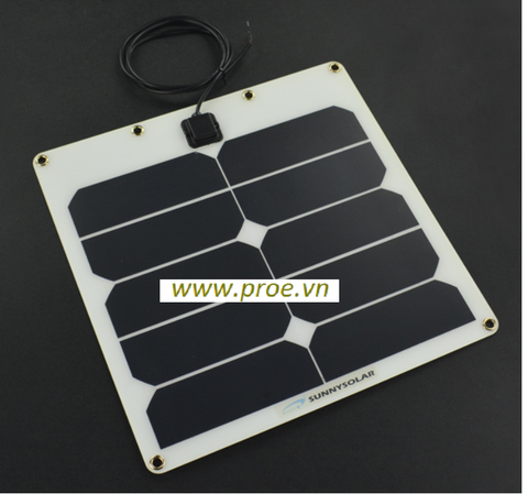 Semi Flexible Solar Panel 5V 2A