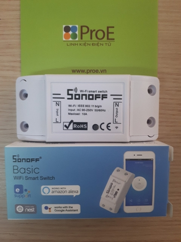 Sonoff Basic WiFi Wireless Switch