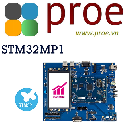 STM32MP157F-EV1 Evaluation board with STM32MP157F MPU