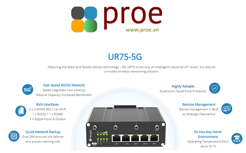 UR75-5G Industrial Cellular Router