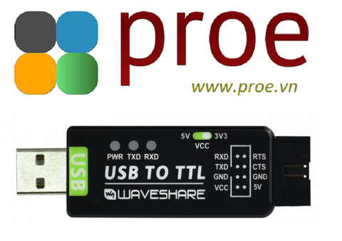 USB TO TTL Industrial USB TO TTL Converter, Original FT232RL, Multi Protection & Systems Support