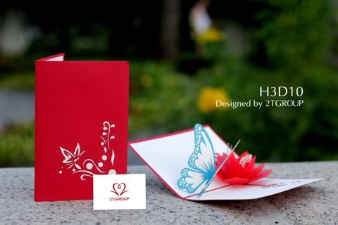 H3D10 - HOA 1 BƯỚM